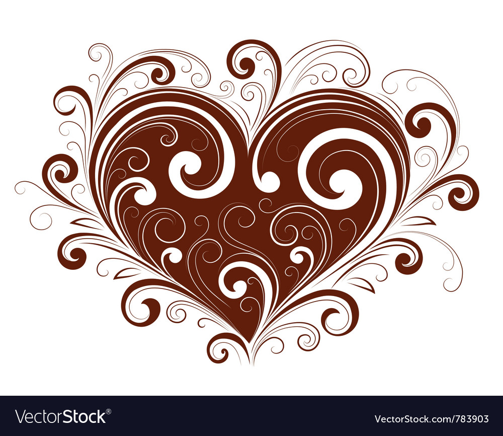 Abstract valentine heart vector | Price: 1 Credit (USD $1)
