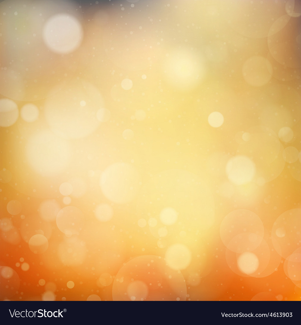 Autumnal natural bokeh with sun eps 10 vector | Price: 1 Credit (USD $1)