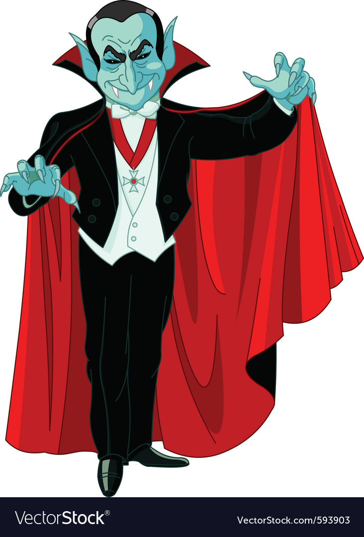 Count dracula vector | Price: 3 Credit (USD $3)