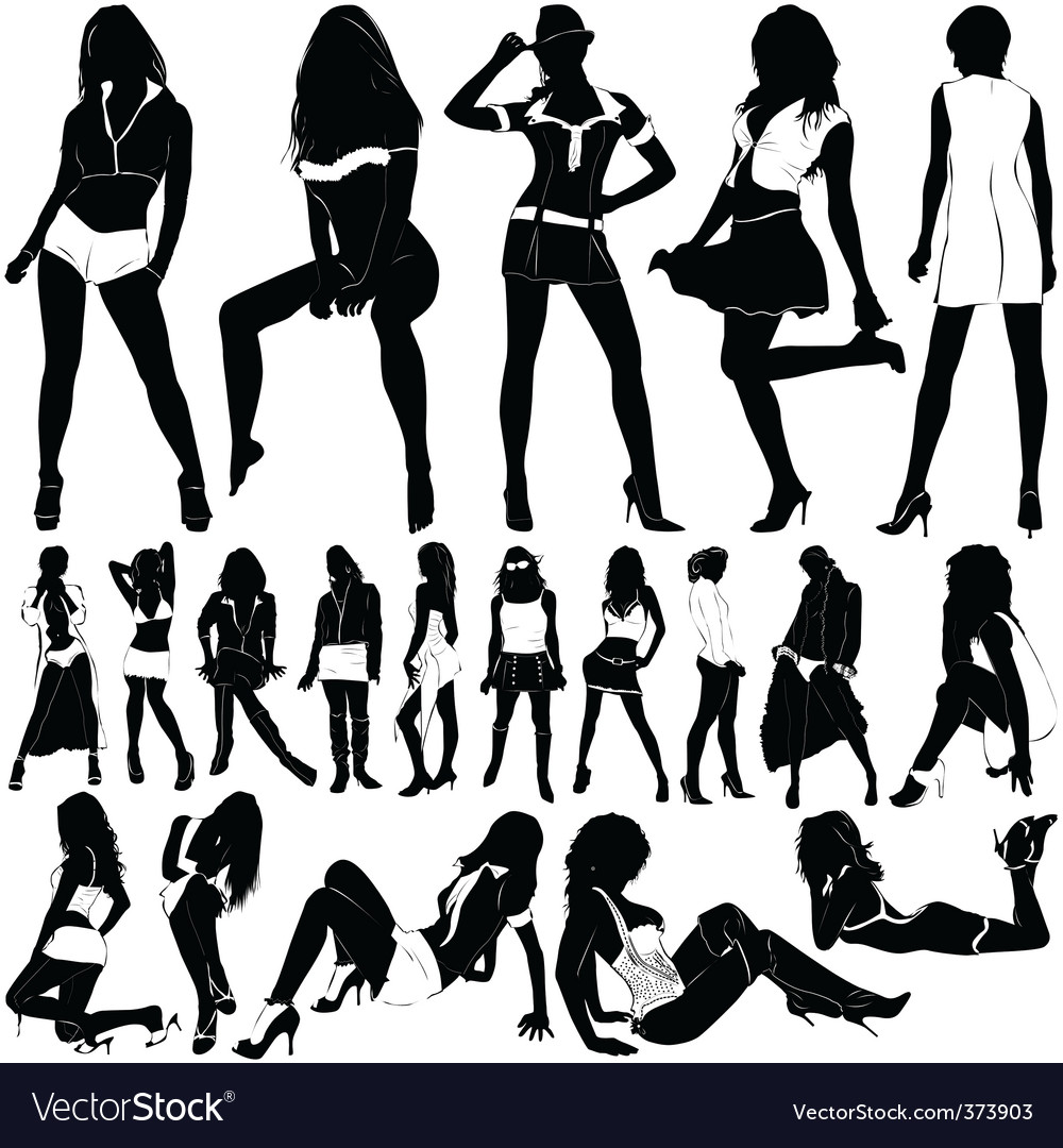Fashion sexy women vector | Price: 1 Credit (USD $1)