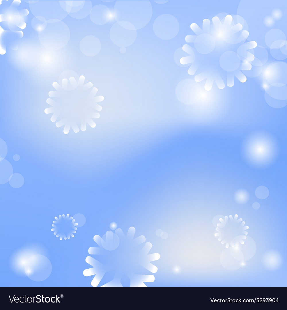 Abstract christmas card with blue background vector   Price: 1 Credit (USD $1)