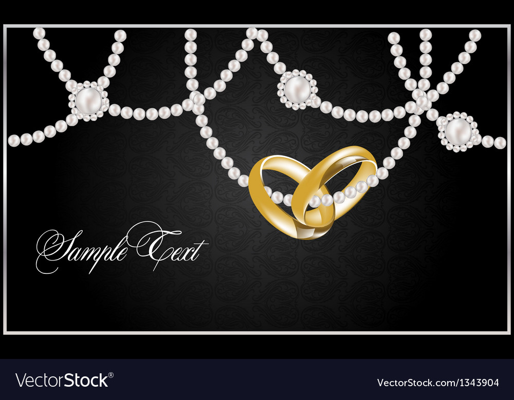 Background with realistic pearls vector   Price: 1 Credit (USD $1)