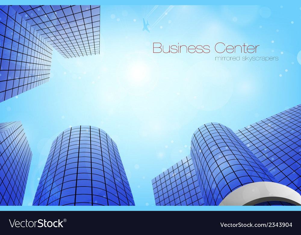 Business center vector | Price: 1 Credit (USD $1)