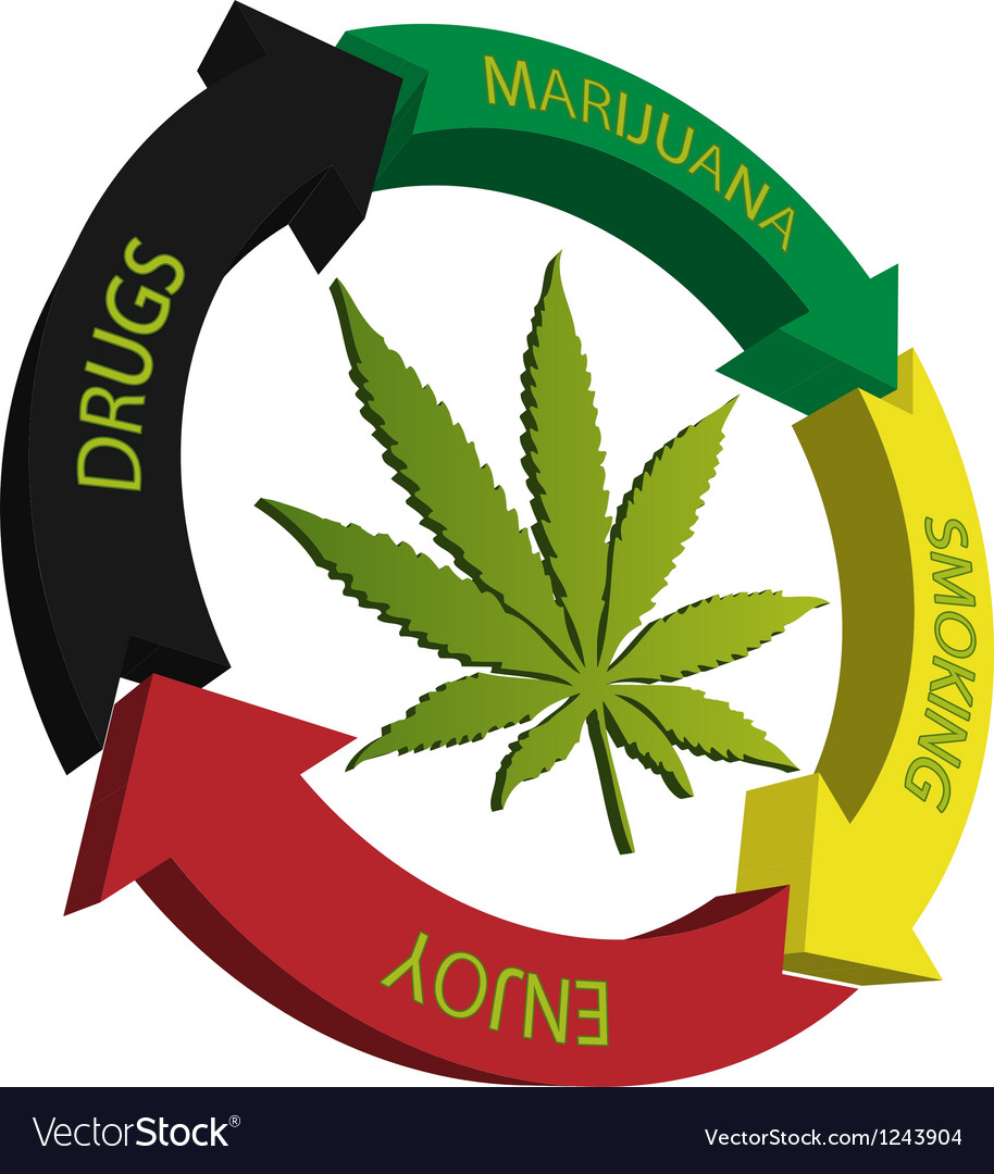 Marijuana-cannabis vector | Price: 1 Credit (USD $1)