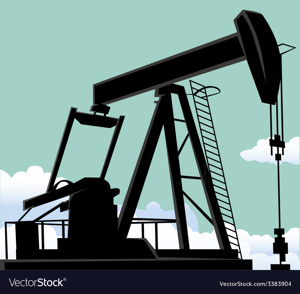 Oil well vector | Price: 1 Credit (USD $1)