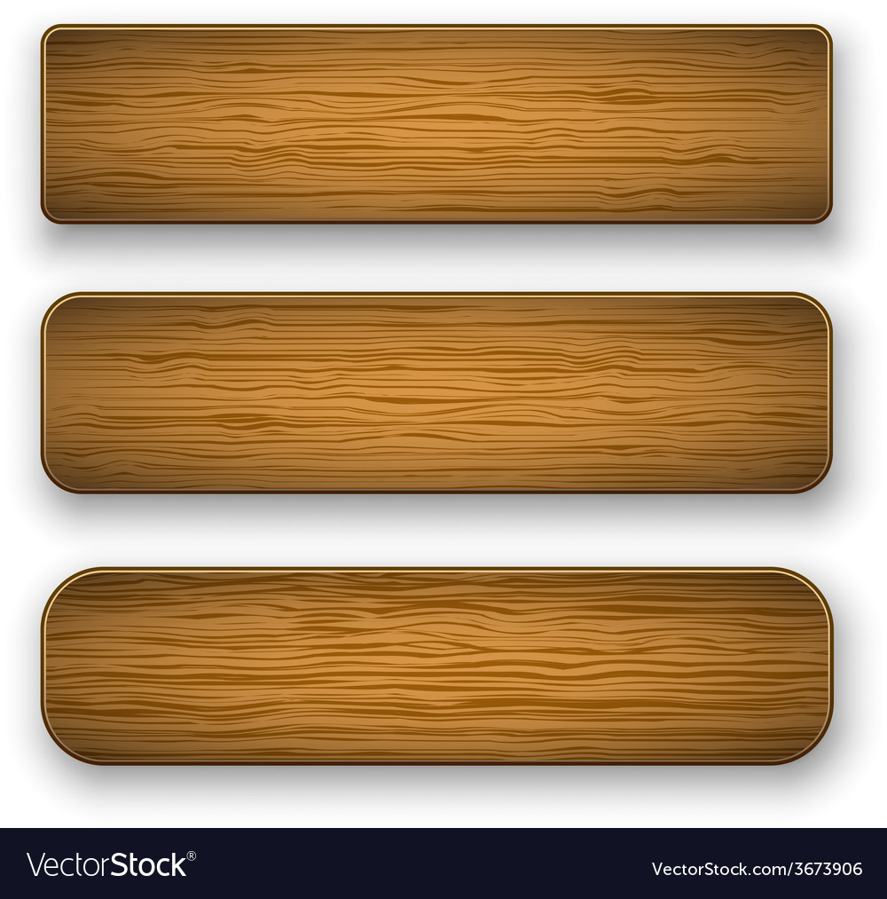 Plate wood vector | Price: 1 Credit (USD $1)