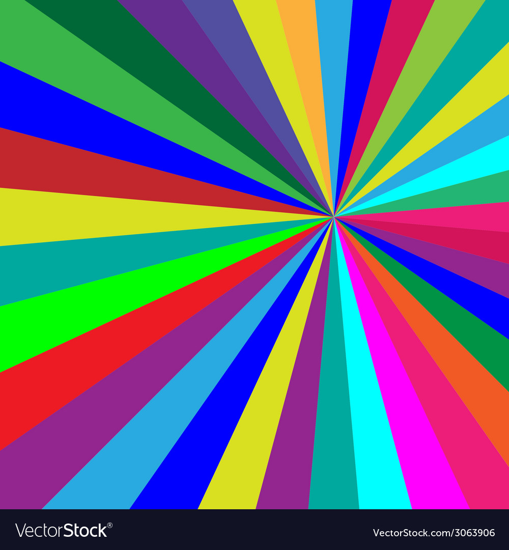 Rainbow colorful folded paper triangles background vector | Price: 1 Credit (USD $1)