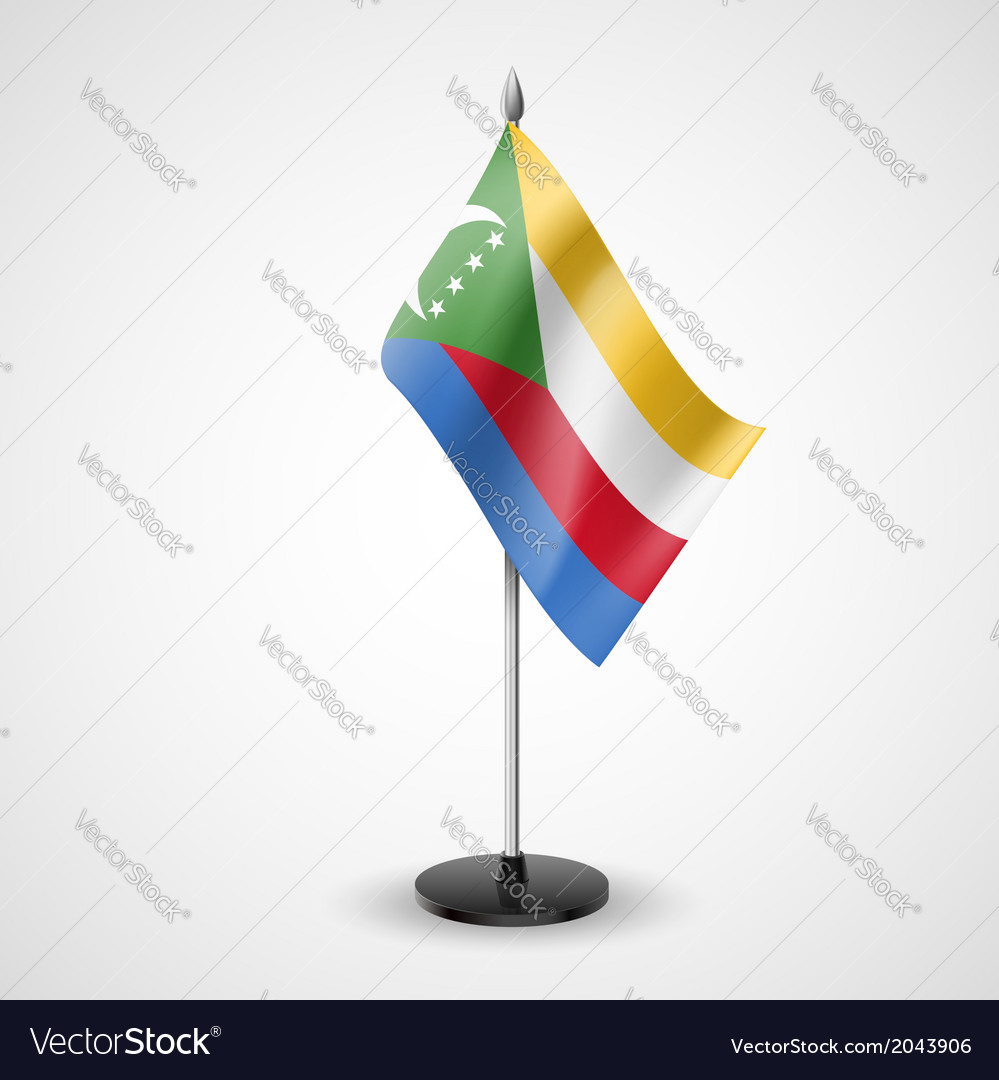 Table flag of comoros vector   Price: 1 Credit (USD $1)