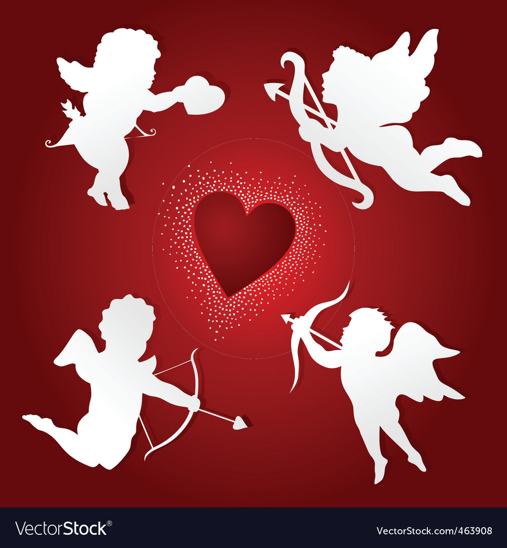 Angel of love vector | Price: 1 Credit (USD $1)