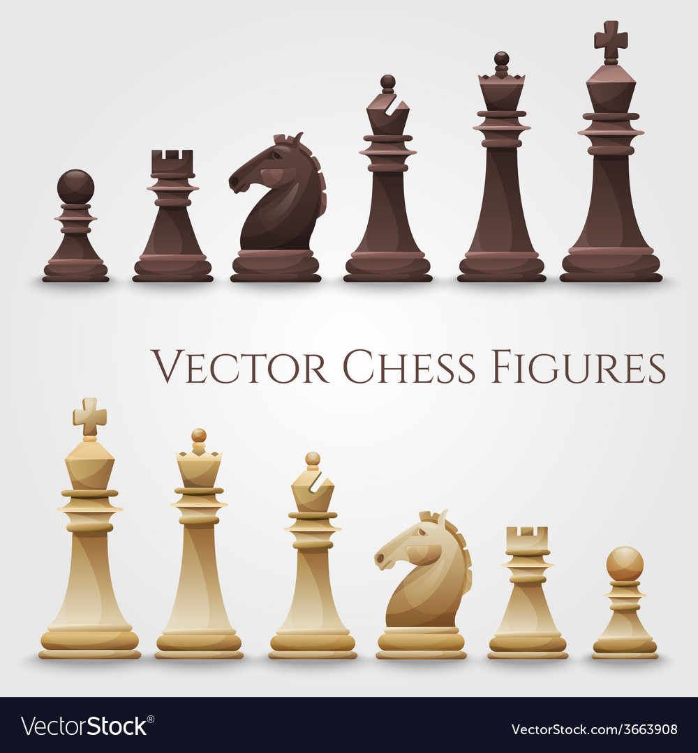 Chess figures vector | Price: 3 Credit (USD $3)
