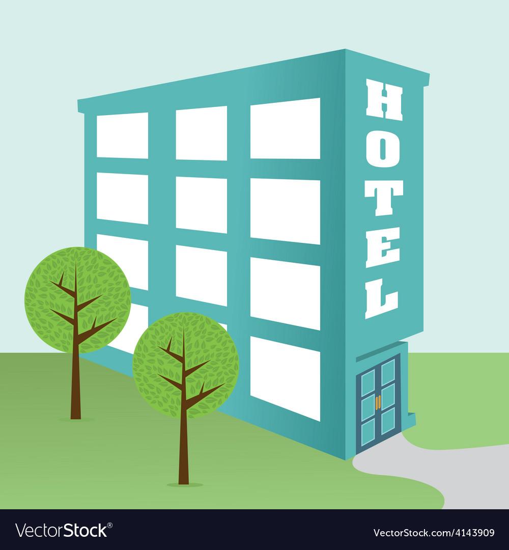 Hotel design vector | Price: 1 Credit (USD $1)