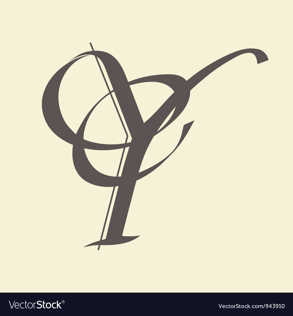Letter y vector | Price: 1 Credit (USD $1)