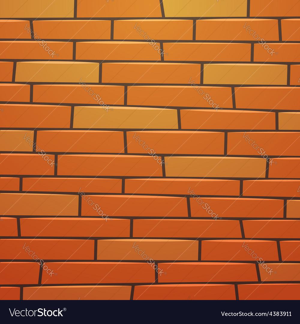 Cartoon brick wall vector | Price: 3 Credit (USD $3)