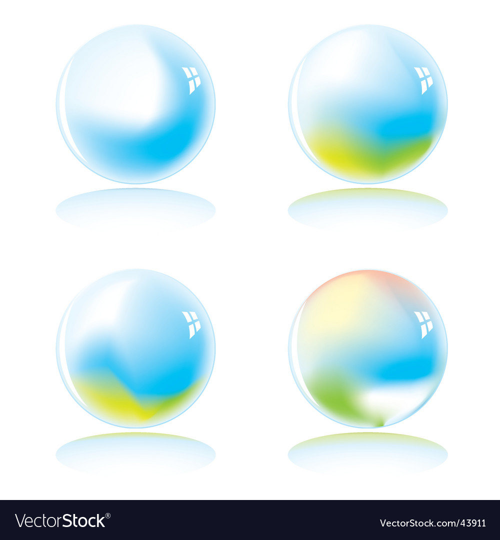 Marble world variation vector | Price: 1 Credit (USD $1)