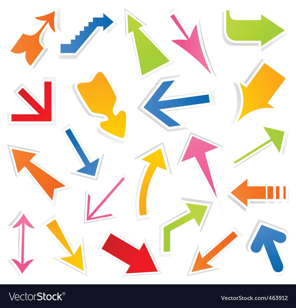 Arrow icon4 vector | Price: 1 Credit (USD $1)