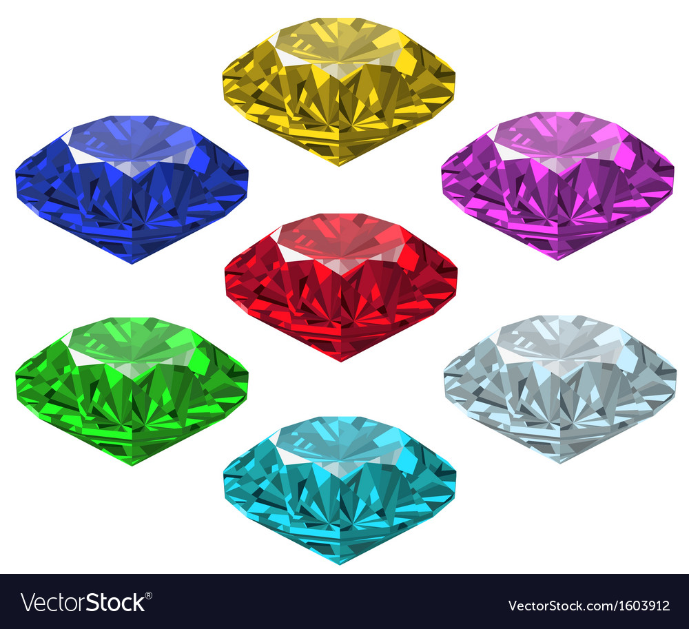 Jewel set vector | Price: 1 Credit (USD $1)