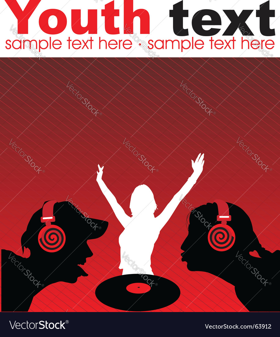 Modern music vector | Price: 1 Credit (USD $1)