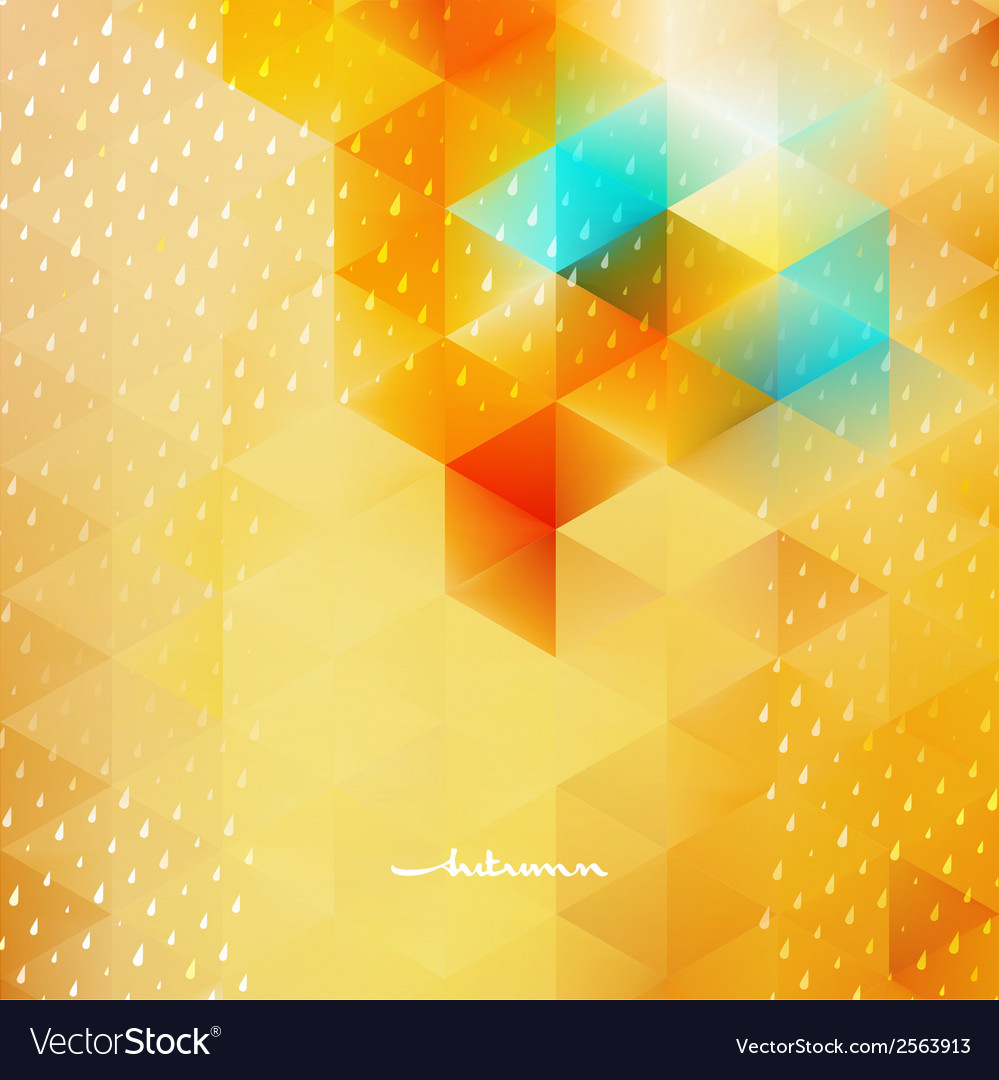 Abstract autumnbackground template eps 10 vector | Price: 1 Credit (USD $1)