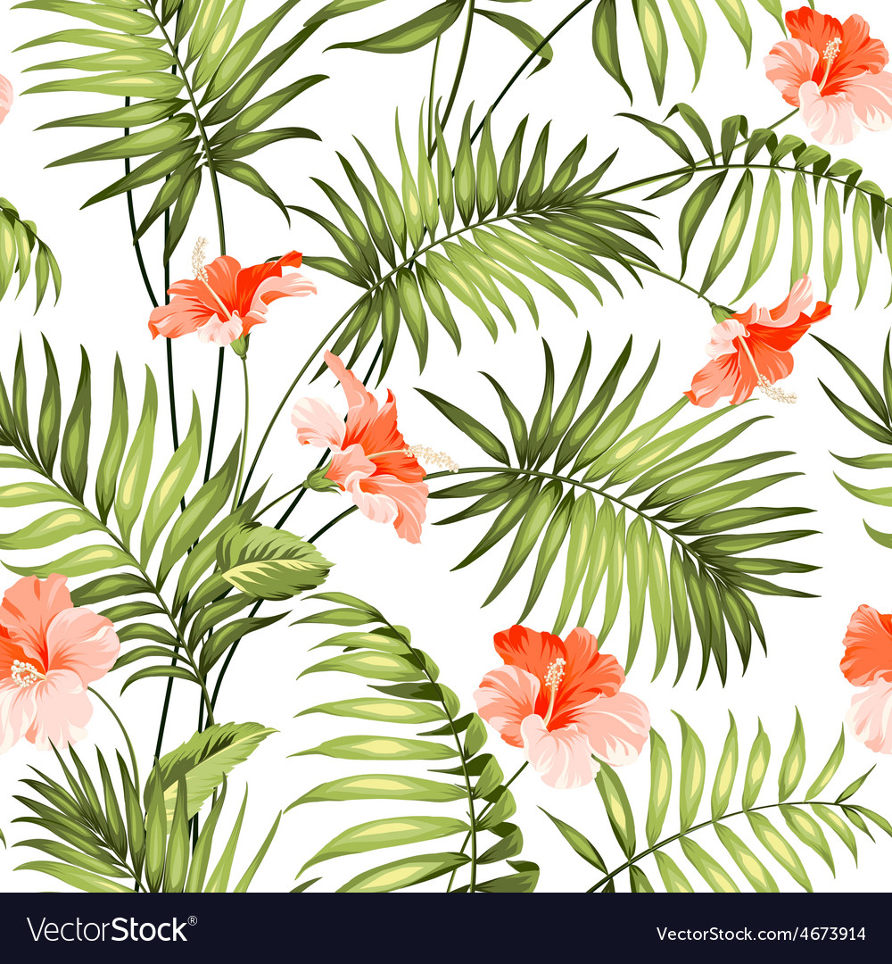 The branch of a palm tree vector | Price: 1 Credit (USD $1)