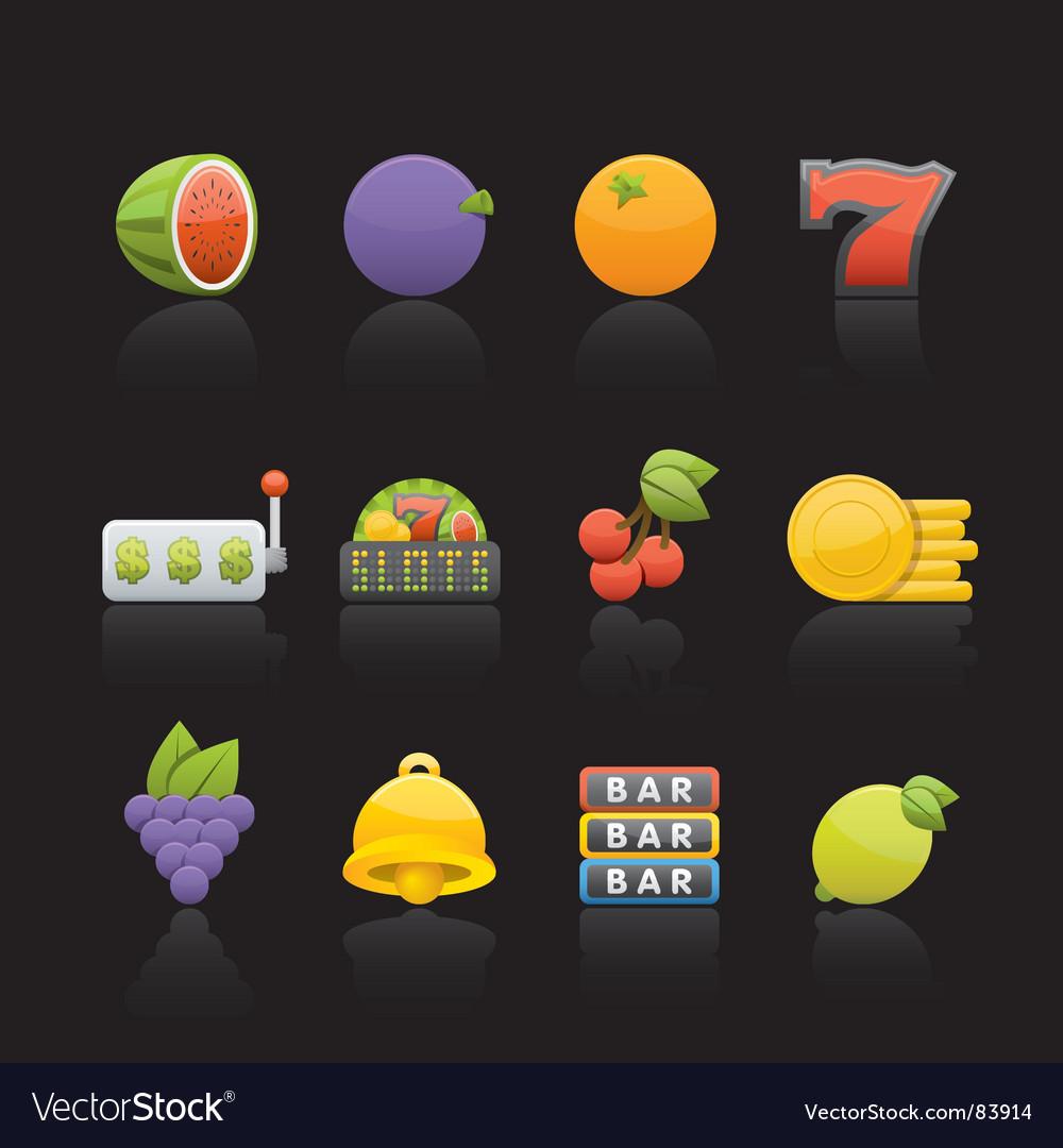 Casino fruit vector | Price: 1 Credit (USD $1)