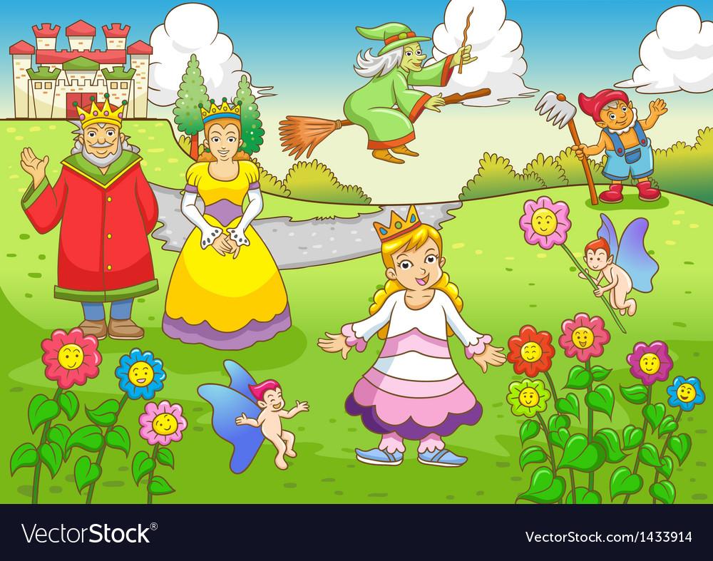 Fairy tale vector   Price: 3 Credit (USD $3)