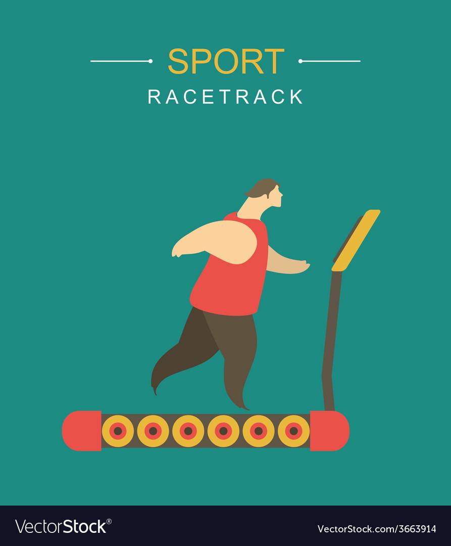 Racetrack vector | Price: 1 Credit (USD $1)