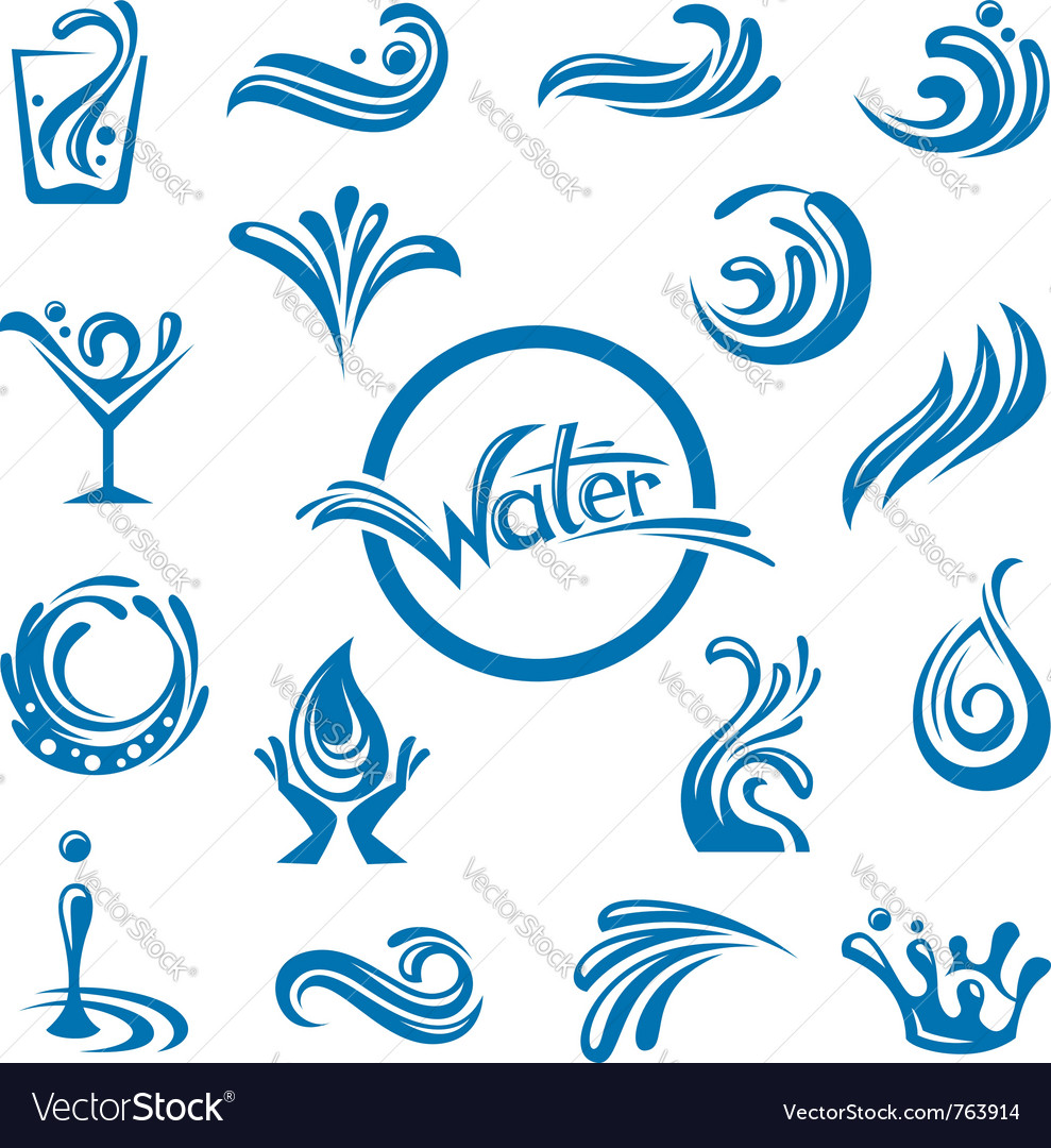 Waters design vector | Price: 1 Credit (USD $1)