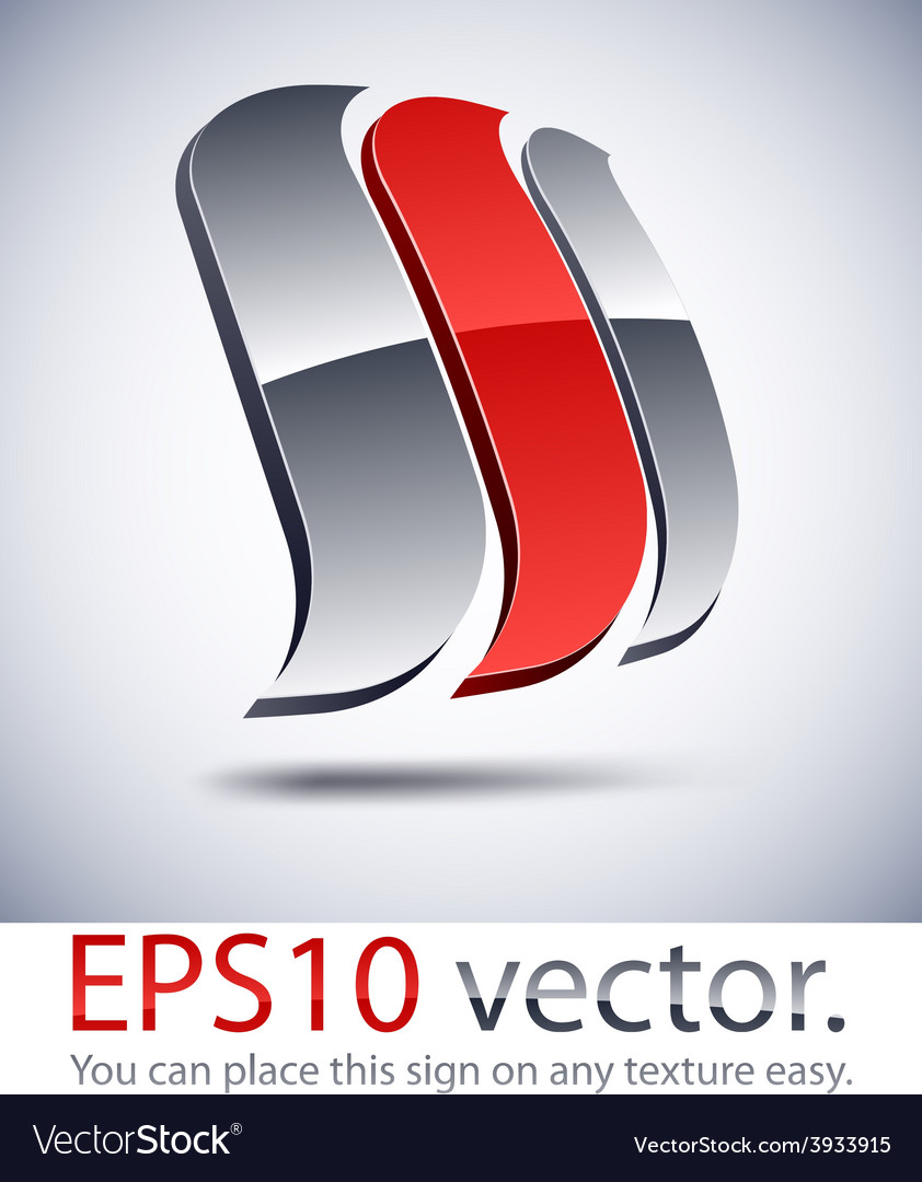 3d modern logo sail icon vector   Price: 1 Credit (USD $1)