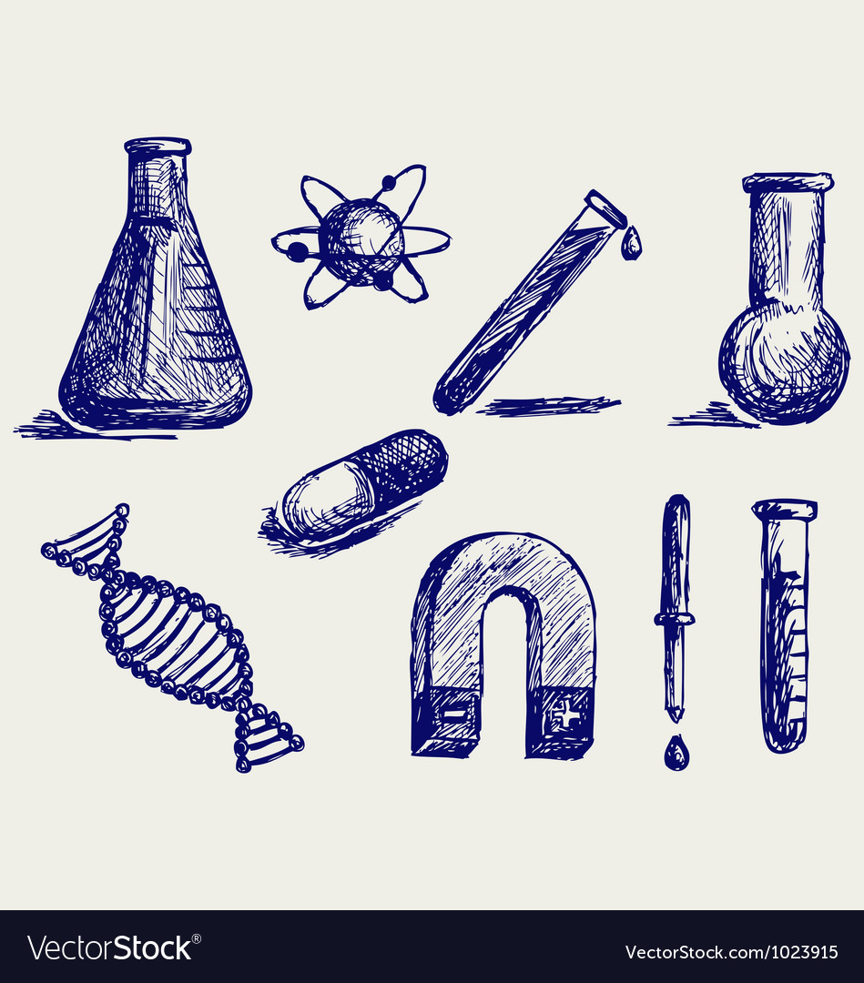 Biology chemistry and physics vector | Price: 1 Credit (USD $1)