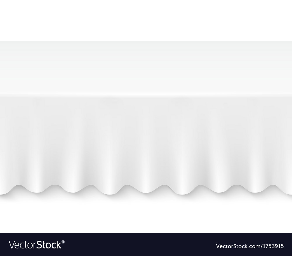 Tablecloth table vector | Price: 1 Credit (USD $1)