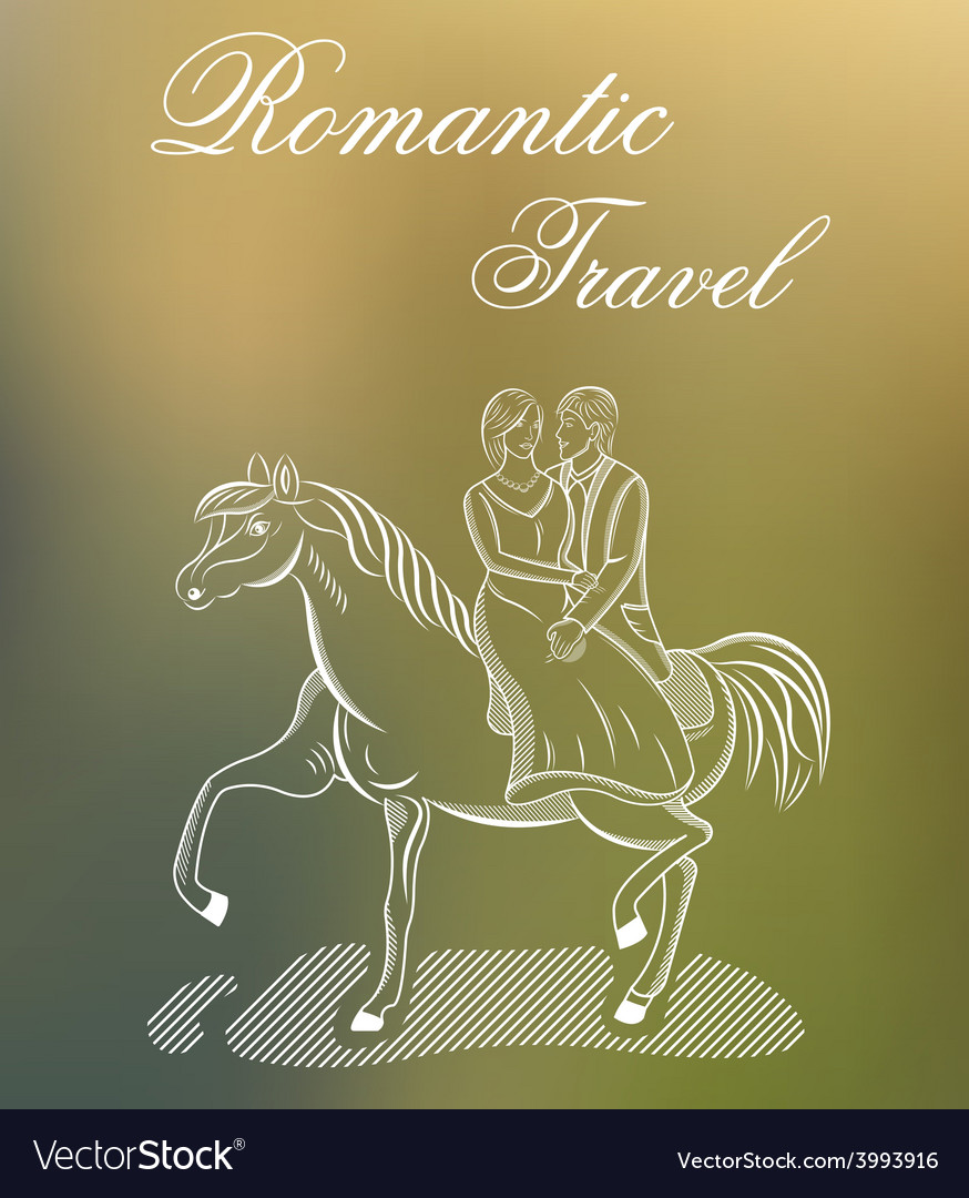 Romantic travel or wedding vector | Price: 1 Credit (USD $1)