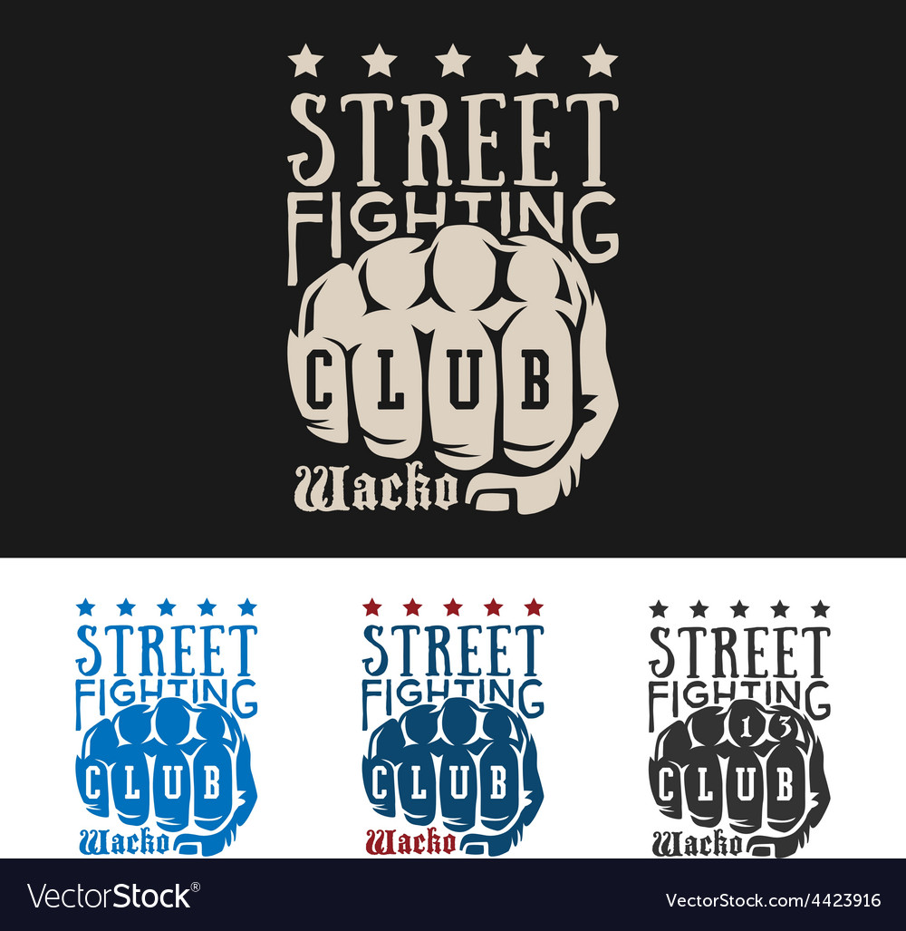 Street fighting vector | Price: 1 Credit (USD $1)