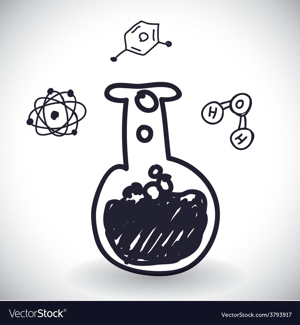 Science icon design vector | Price: 1 Credit (USD $1)
