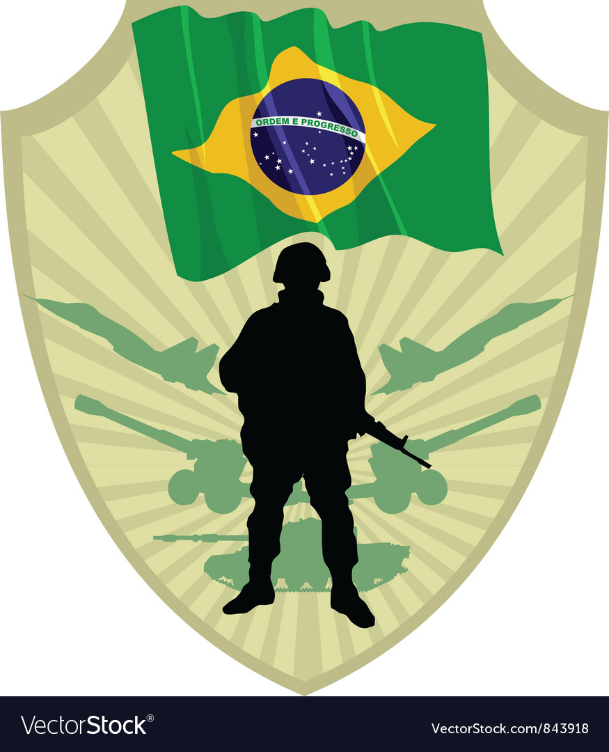 Army of brazil vector | Price: 1 Credit (USD $1)