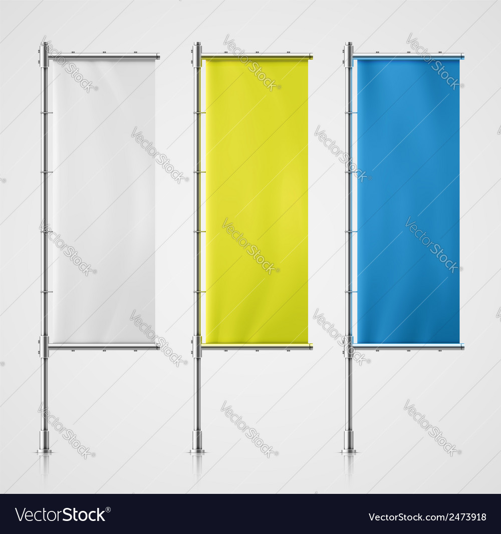 Banner flag vector | Price: 1 Credit (USD $1)