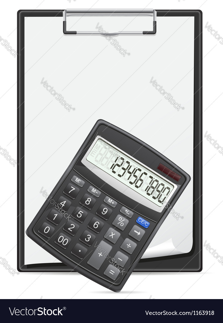 Calculator 03 vector | Price: 1 Credit (USD $1)
