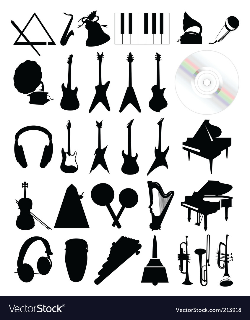 Musical instruments vector   Price: 1 Credit (USD $1)