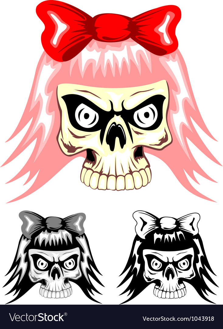 Skull emo dwa vector | Price: 1 Credit (USD $1)