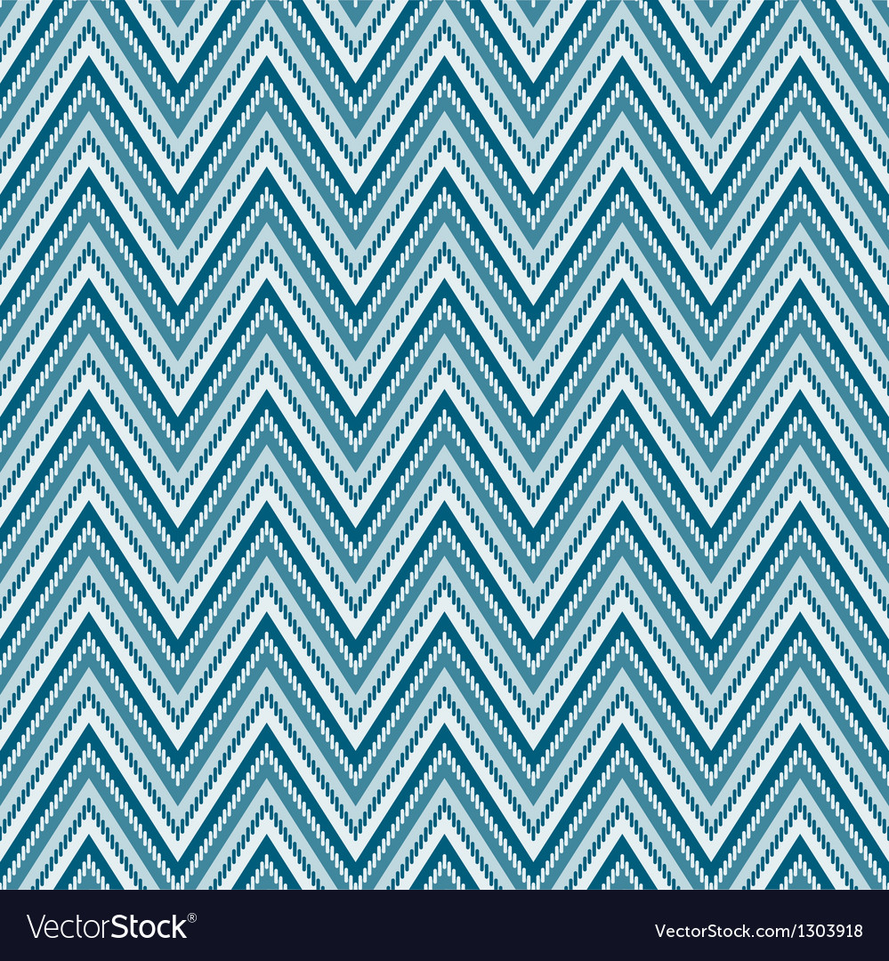Zig-zag chevron background seamless pattern vector | Price: 1 Credit (USD $1)