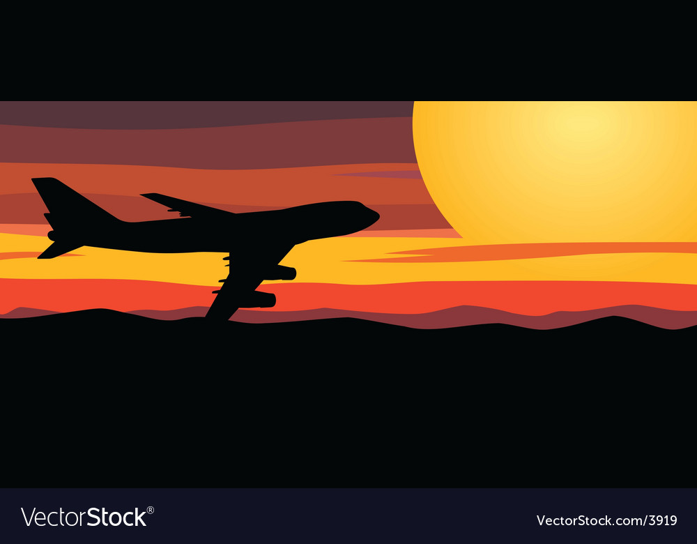 Travel by airplane vector   Price: 1 Credit (USD $1)