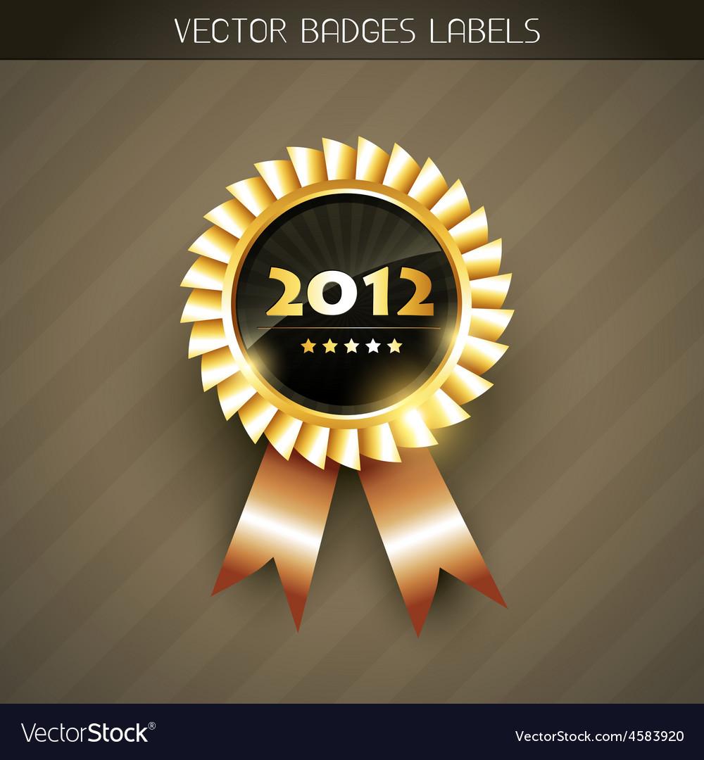 2012 label vector | Price: 1 Credit (USD $1)