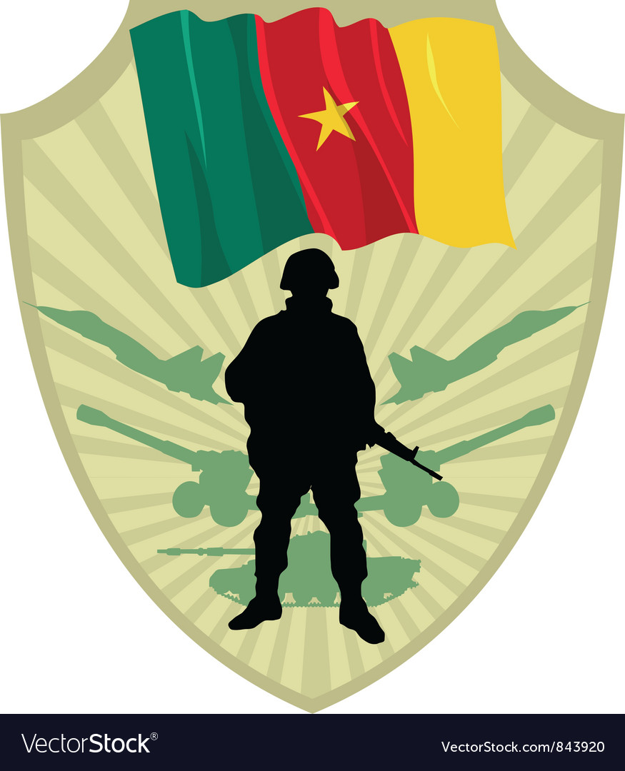 Army of cameroon vector | Price: 1 Credit (USD $1)