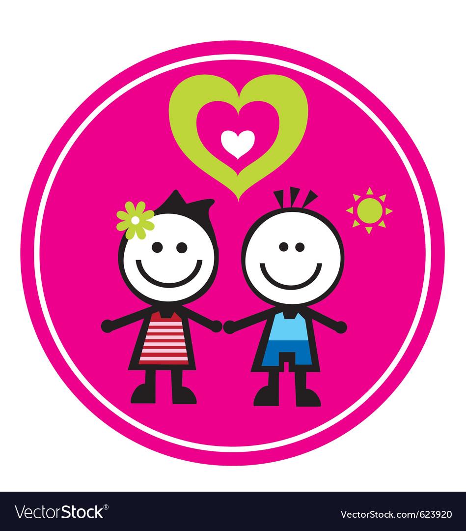 Children sticker vector   Price: 1 Credit (USD $1)