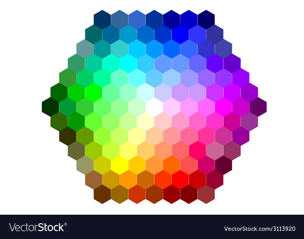 Mixing color vector | Price: 1 Credit (USD $1)