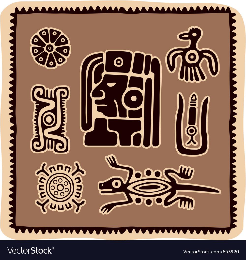 Set of mexican design elements vector   Price: 1 Credit (USD $1)