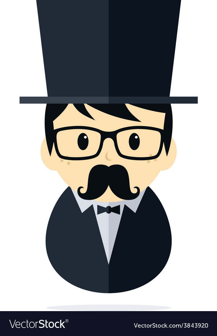 Tuxedo man vector | Price: 1 Credit (USD $1)