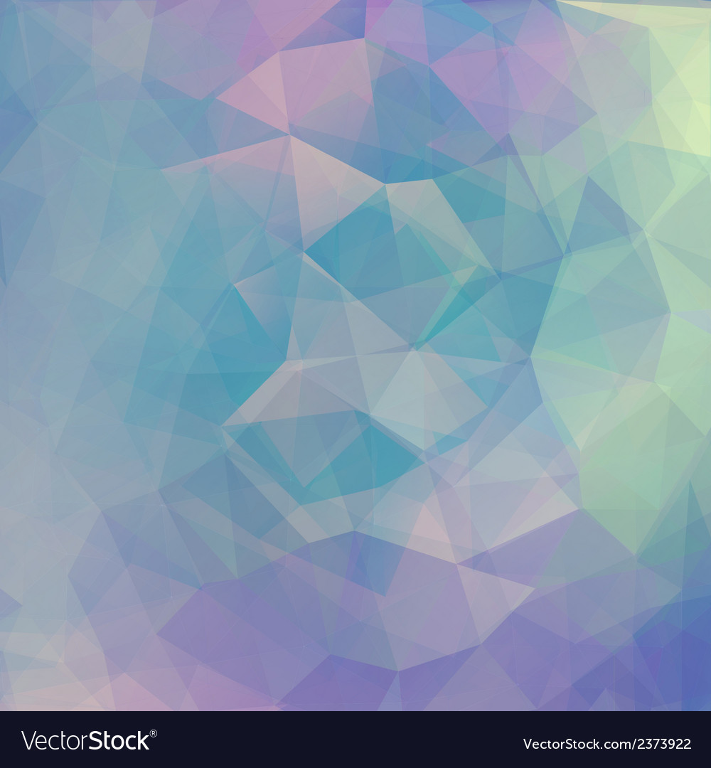 Abstract geometrical background with blue vector | Price: 1 Credit (USD $1)
