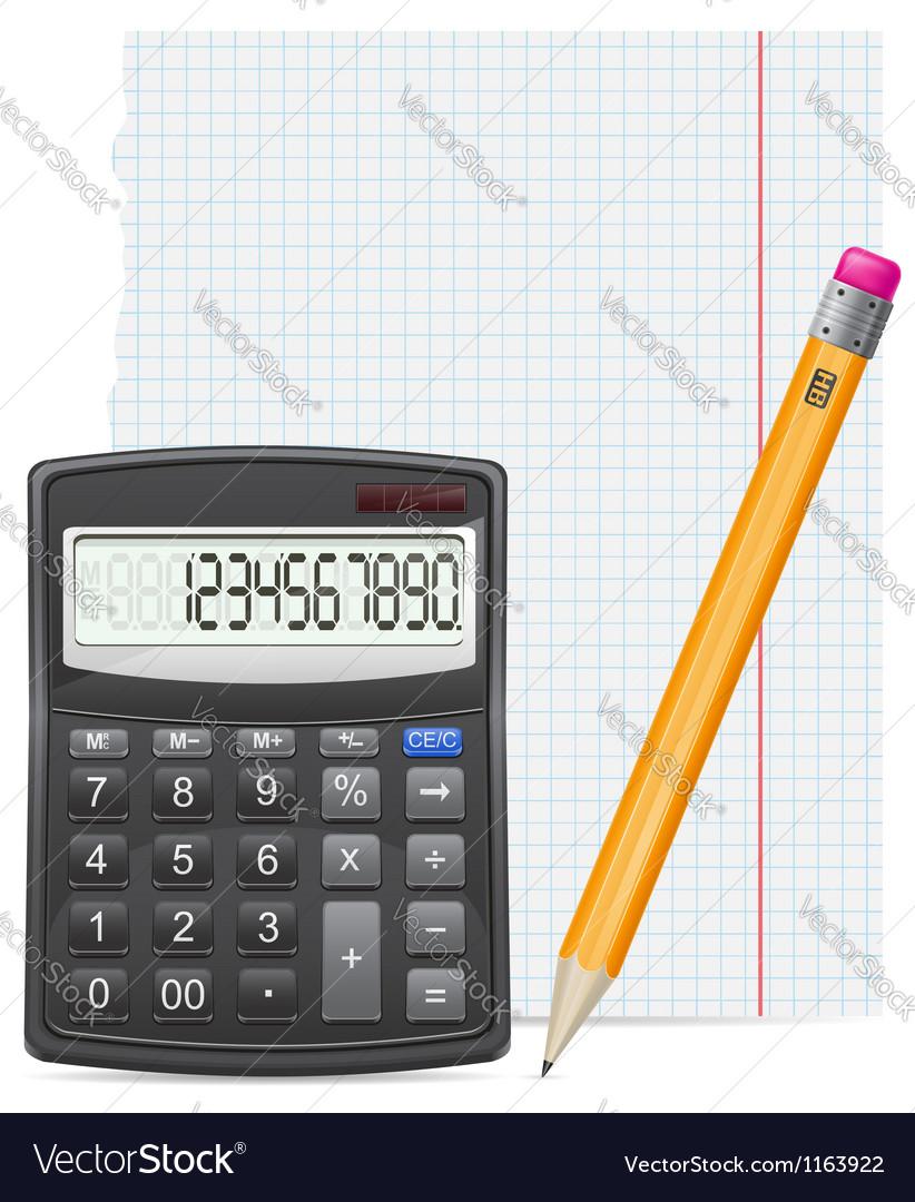 Calculator 04 vector | Price: 1 Credit (USD $1)