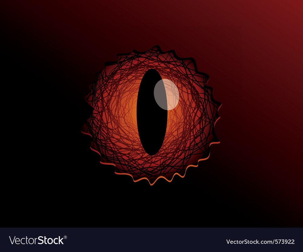 Dragon eye vector | Price: 1 Credit (USD $1)