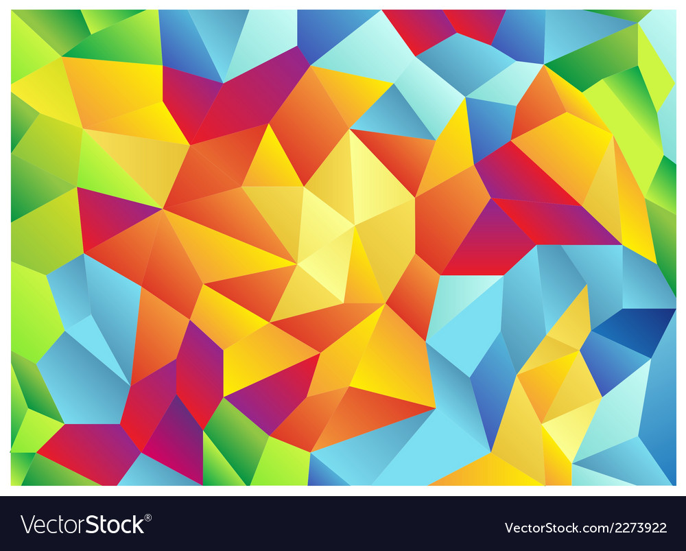Modern retro pattern of geometric shapes colorful vector | Price: 1 Credit (USD $1)